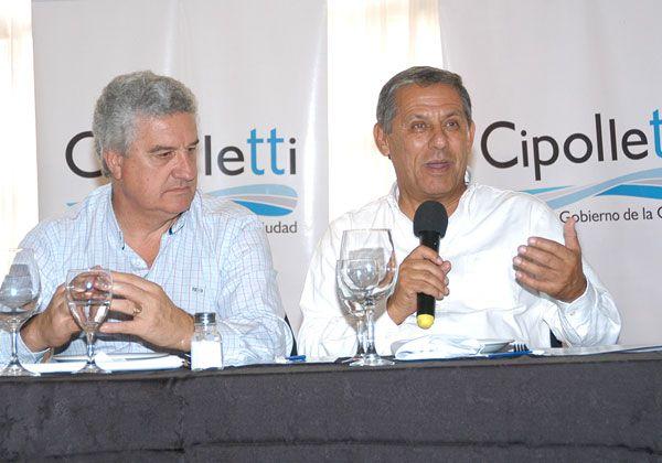 Acuerdo de Baratti y Quiroga para la línea de alta tensión en la Margen Sur