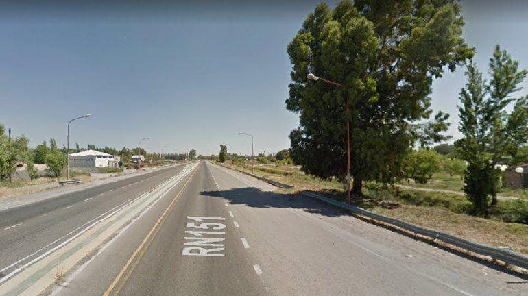 Detuvieron a un hombre tras una persecución por la Ruta 151