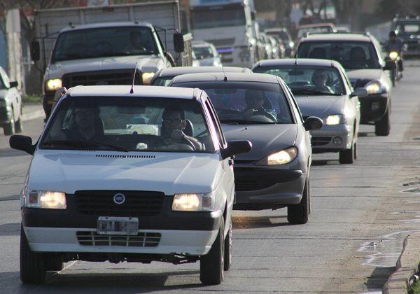 Explosivo aumento del parque automotor
