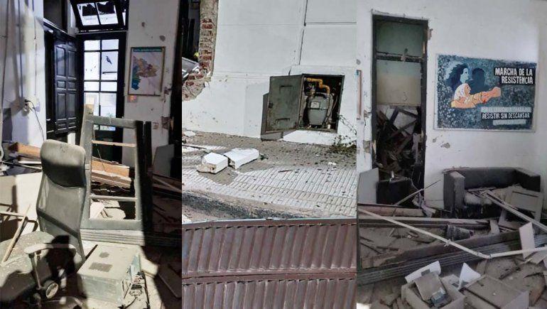 Legisladores de JSRN repudiaron el violento ataque contra un local del Frente de Todos