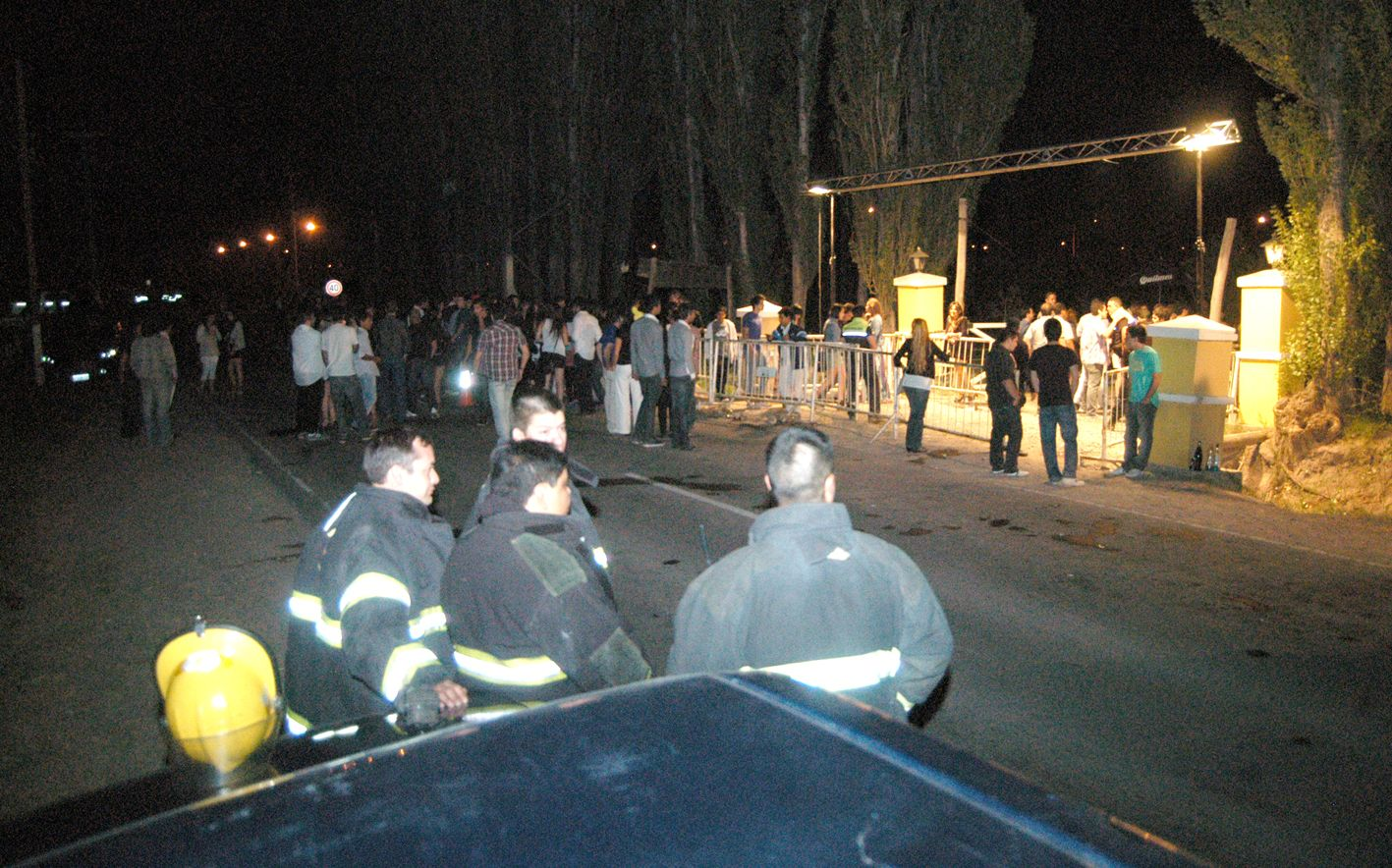 La fiesta no paró ni por posible bomba