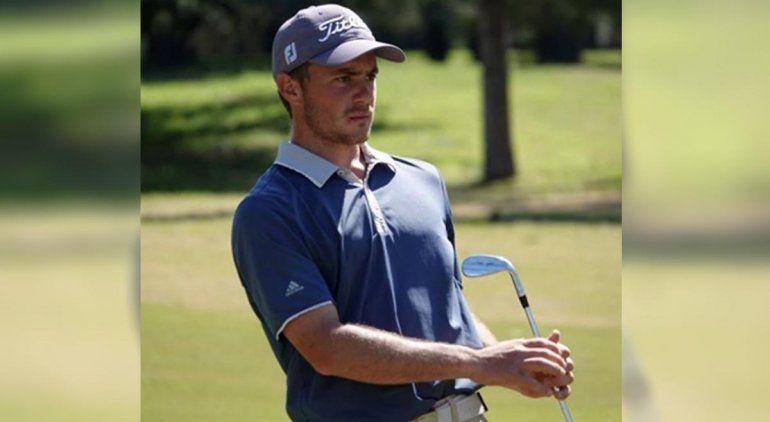 Un golfista rionegrino la rompe en un torneo de Estados Unidos