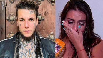 Alex Caniggia renunció al Cantando y su compañera se quebró en vivo