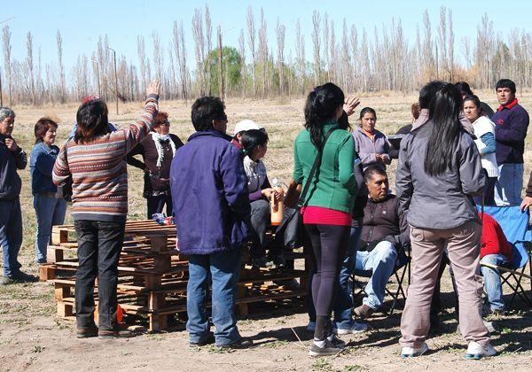 Familias cipoleñas tomaron terrenos en el DVN