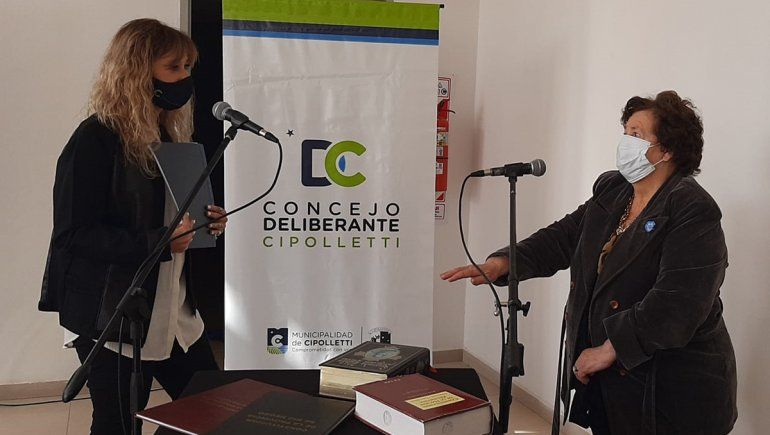 Inés Parra ya es la nueva concejal del oficialismo