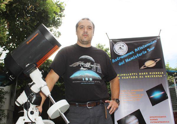 Amantes de la astronomía difunden y fomentan la actividad en la ciudad
