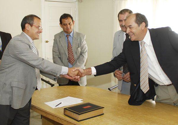 Asumió ayer el nuevo secretario letrado del Juzgado de Paz de Cinco Saltos
