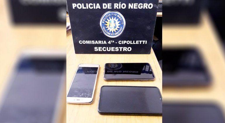 Tras persecución policial, atraparon a dos ladrones de celulares