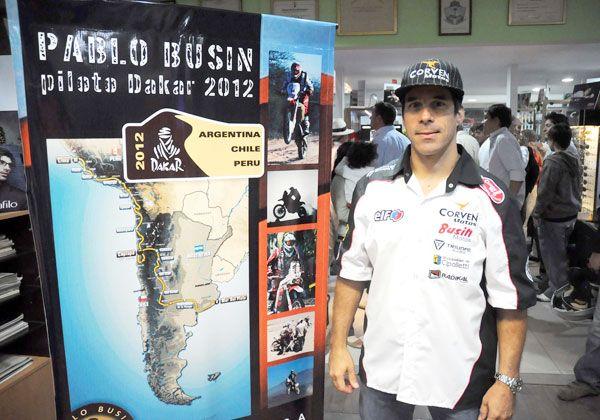 Fin de la previa y empieza el Dakar para Busin