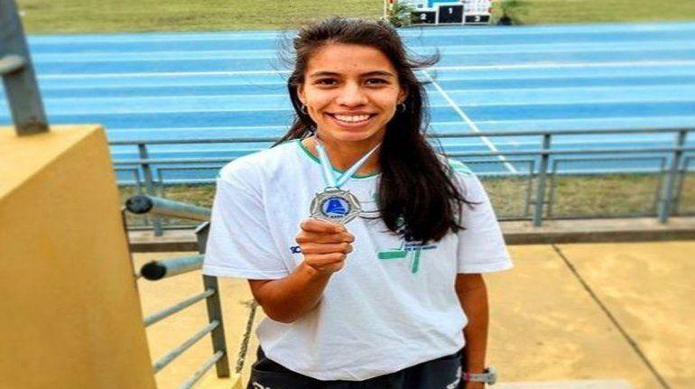 Martina Escudero competirá en los 800 metros llanos
