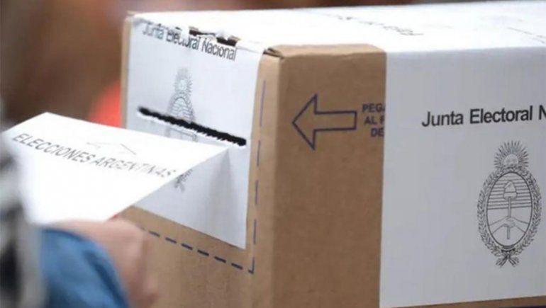 Comenzó la jornada electoral: Río Negro y el país ya votan en las PASO