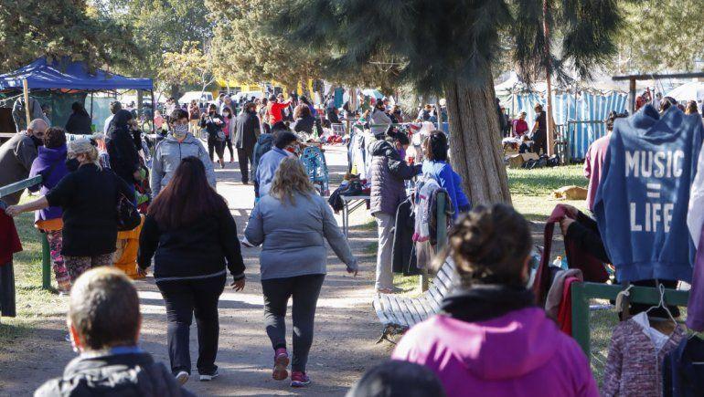 Los feriantes no se moverán de la plaza del Don Bosco