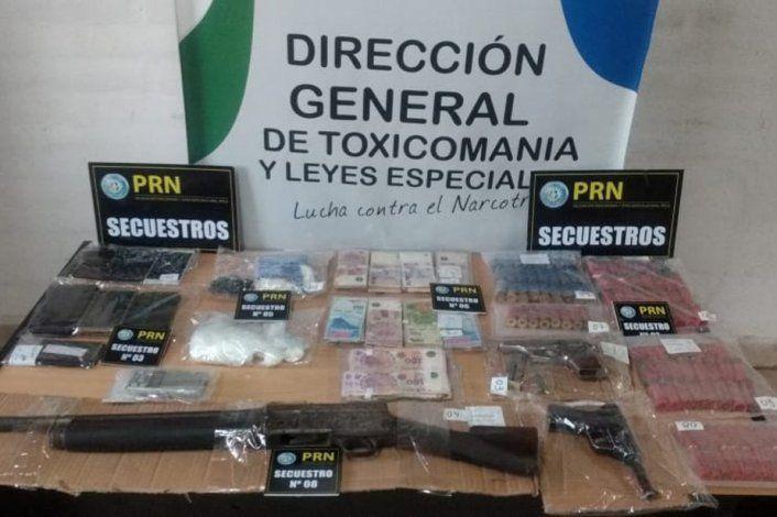 Desbaratan otra organización narco en General Roca