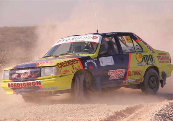 Schichi, el mejor cipoleño en el Rally Regional