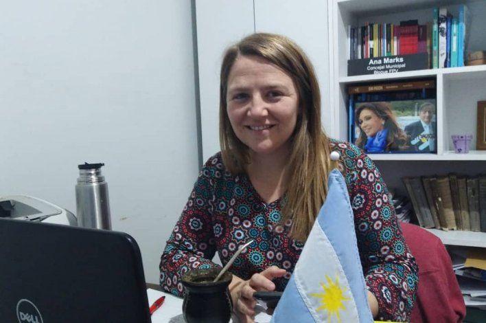 Mujeres peronistas apoyan a Ana Marks para diputada nacional