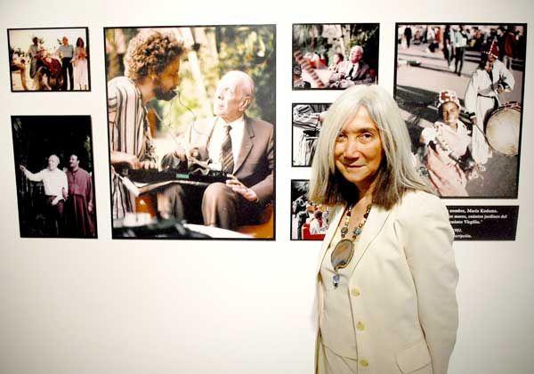 María Kodama, la viuda de Borges, visitará Cipolletti