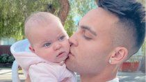 el gran susto de lautaro martinez por el accidente domestico de su beba