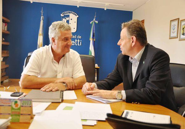 Baratti se reunió con el ministro de turismo de Río Negro