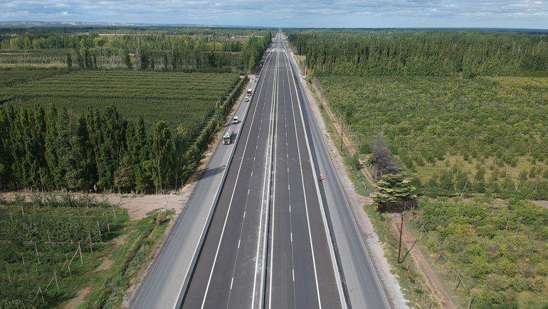 Vialidad Nacional habilitará dos puentes en la autopista de la Ruta 22