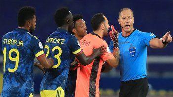 Pitana: ¿Qué pasó en el polémico gol de Brasil?