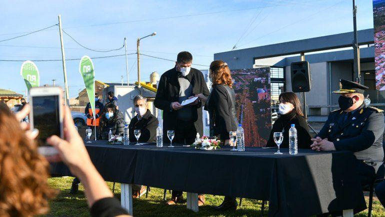 Firman convenio para poner en marcha la obra de la Subcomisaría del DVN