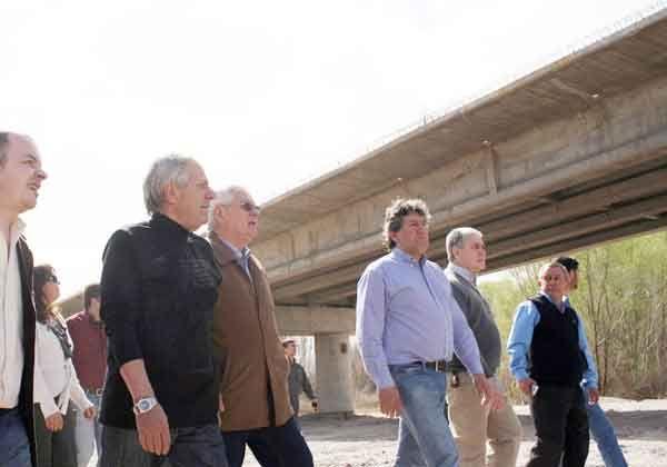 El puente de Isla Jordán, casi listo