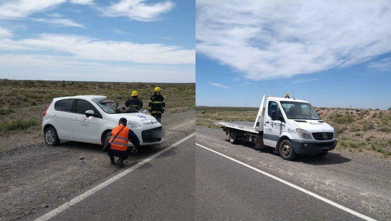 Un hombre murió en un brutal accidente sobre la Ruta 151