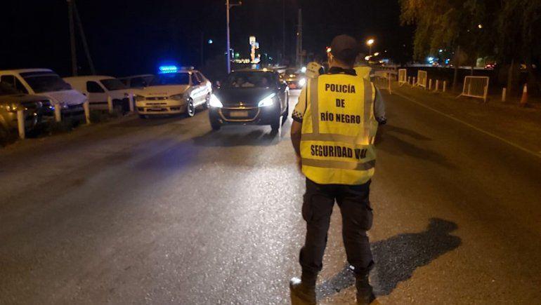 Peligro al volante: atraparon a 49 conductores borrachos en Cipolletti