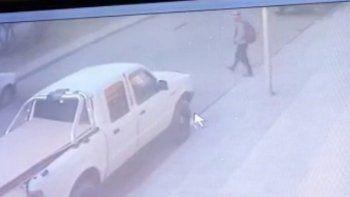 video: asi se robaron una camioneta en cercanias a un hiper