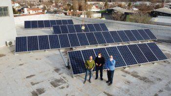 medio centenar de familias y empresas rionegrinas ya generan su propia energia