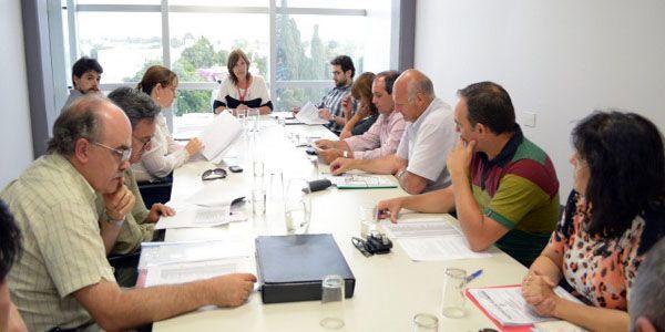 Reunión de la Comisión de seguimiento del convenio con el Banco Nación