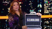 trato hecho: gano 2 millones de pesos y donara el premio