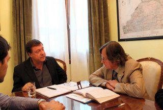 El gobernador recibió al intendente de Catriel