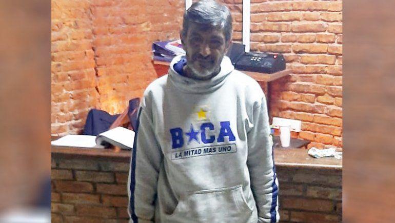 El vecino con esquizofrenia apareció en Buenos Aires