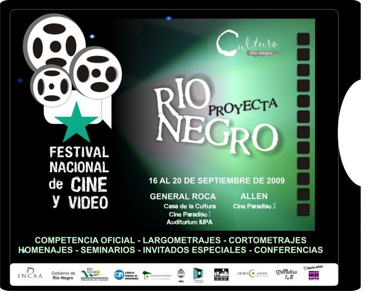 """Comienza hoy el Festival Nacional de Cine """"Río Negro 2009"""""""