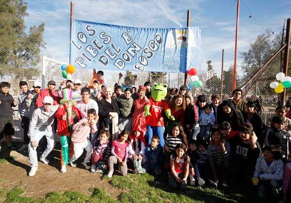 Festejos barriales por el Día del Niño