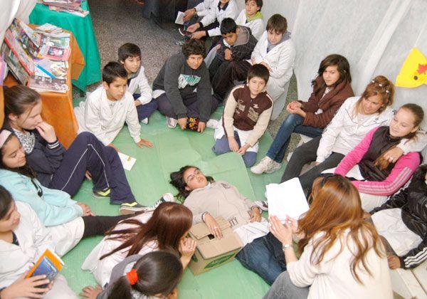 Los colegios cipoleños, presentes en la Maratón Nacional de Lectura