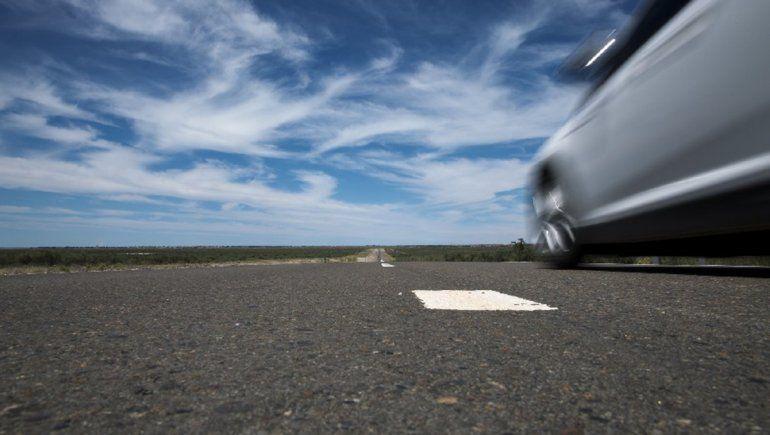 Piden precaución a conductores para circular por un tramo de la Ruta 22