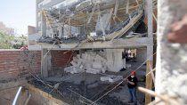 un vecino dijo que el edificio de upcn tuvo otros derrumbes antes