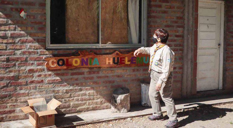 Robaron y destrozaron la sede de los scout