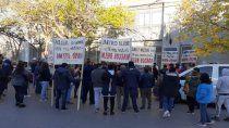 masivo apoyo a sindicalista acusado por administracion fraudulenta