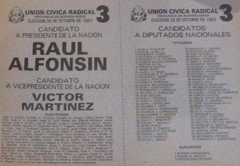 30 octubre 1983/2012 Éramos y seguimos siendo radicales