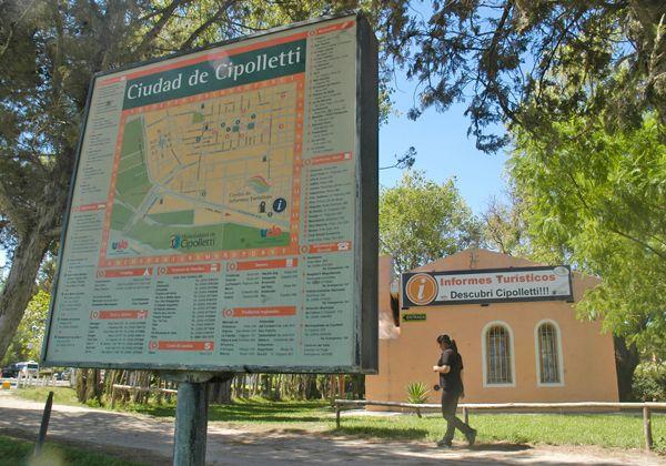 Crece la cantidad de turistas que visitan Cipolletti