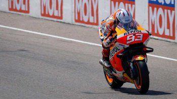Marc Márquez volvió a la victoria en el MotoGP en Sachsenring