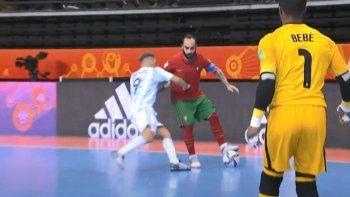 Final de futsal: la piña de Titi Borruto llenó de memes las redes