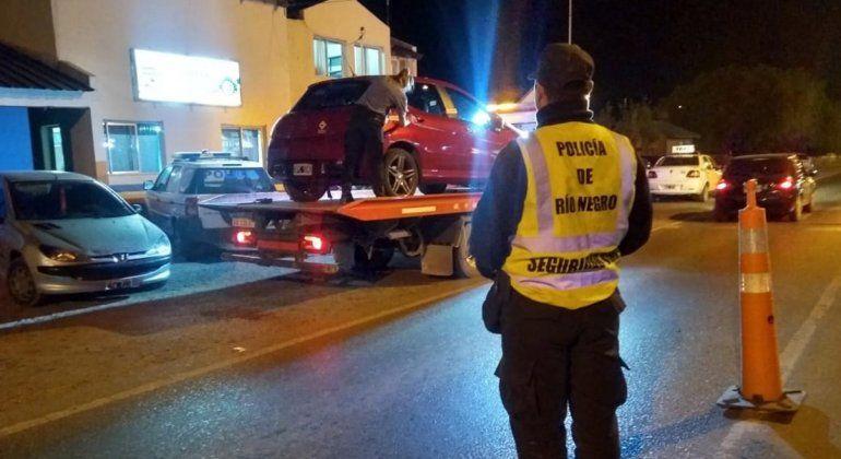 Atraparon a 28 conductores borrachos en controles de alcoholemia