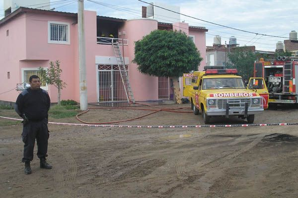 Tres muertos en un incendio en Las Grutas