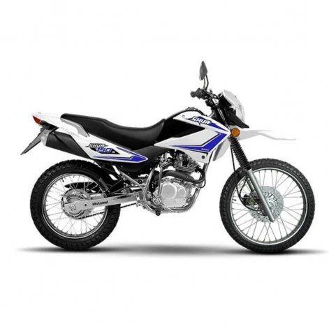 La moto en la circulaba Antical es similar a la de la imagen
