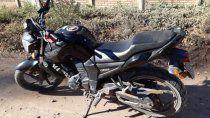 recuperaron en catriel una moto robada en cinco saltos