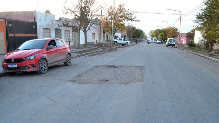 El asfalto del Don Bosco duró apenas dos semanas